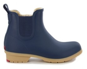 Chooka Women's Bainbridge Chelsea Ankle Rain Boot Women's Shoes