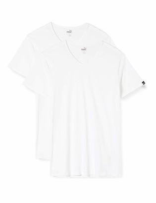 Puma Men's Basic 2p V-Neck T-Shirt