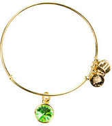Alex and Ani August Birthstone Charm Bangle