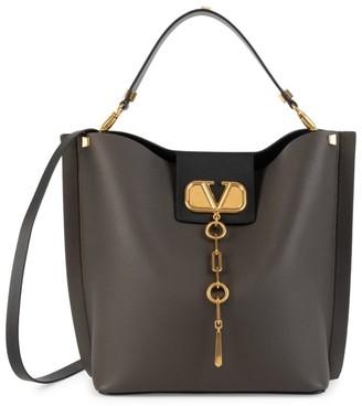 Valentino Garavani VLogo Escape Leather Hobo Bag
