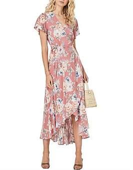 AUGUSTE Pascal Muse Wrap Maxi Dress