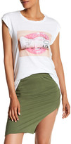 Pam & Gela Frankie Money Mouth Front Graphic Print Tee