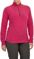 Marmot Rocklin Fleece Shirt - Zip Neck, Long Sleeve (For Women)