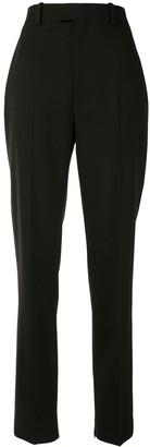 Bottega Veneta High-Waist Tapered Wool Trousers