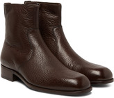 Tom Ford - Wilson Full-grain Leather Boots