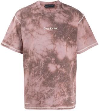United Standard slogan tie-dye T-shirt