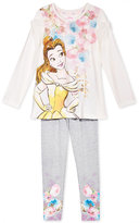 Disney Disney's® Beauty and The Beast 2-Pc. Top & Leggings Set, Toddler & Little Girls (2T-6X)