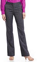 Alex Marie Modern Mid-Rise Flat Front Straight Leg Pant