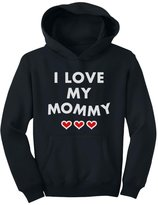 TeeStars - I Love My Mommy - Children's Mother's Day Gift Cute Youth Hoodie