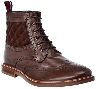 Ben Sherman Brent Wingtip Leather Boots