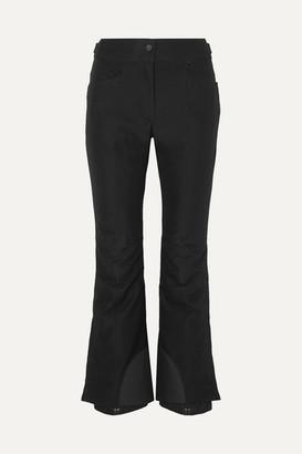 MONCLER GRENOBLE Flared Ski Pants - Black