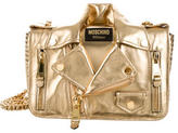 Moschino Motorcycle Jacket Shoulder Bag w/ Tags