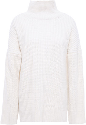 Markus Lupfer Ribbed Wool Turtleneck Sweater