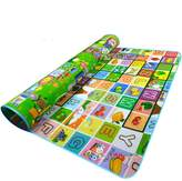 Garwarm 71*59inches Extra Large Baby Crawling Mat Playmat Foam Blanket Rug for In/Out Doors