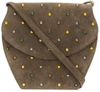 Saint Laurent Pre-Owned 1970's studded crossbody bag
