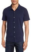 Zachary Prell Men's Knit Short Sleeve Sport Shirt