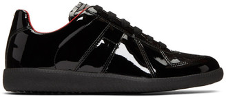 Maison Margiela Black Patent Replica Sneakers