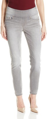 Jag Jeans Women's Nora Pull On Knit Denim Skinny Jean In Antique Tin