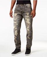 Sean John Men's Destructed Mercer Slim-Straight Jeans, Only at Macy's
