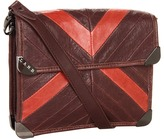 L.A.M.B. Corner Hardware Crossbody (Oxblood) - Bags and Luggage