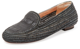 Robert Clergerie Gracia Straw Loafer
