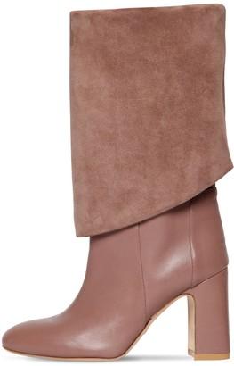 Stuart Weitzman 90mm Lucinda Tall Leather Boots