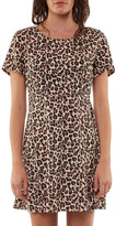 All About Eve Leopard Fit & Flare Dress