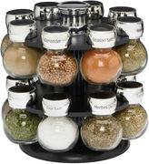 Ellington Leather Goods Kamenstein 16-Jar Revolving Spice Rack