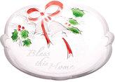 Mikasa Holiday Bells Sentiments Sweet Dish