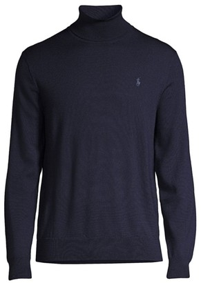 Polo Ralph Lauren Regular-Fit Washable Merino Wool Turtleneck Sweater