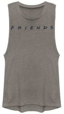 Fifth Sun Friends Classic Letters Logo Festival Muscle Women's Tank
