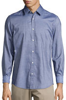 BOSS GREEN Chambray Sportshirt
