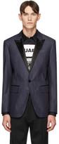 DSQUARED2 Blue Denim Classic Blazer