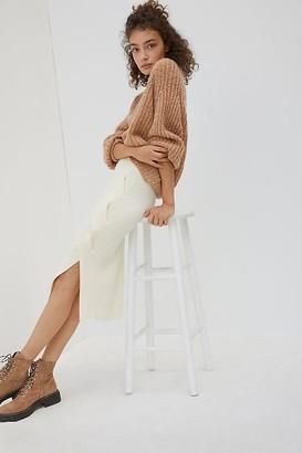 Maeve Desiree Knit Midi Skirt