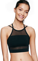 PINK Ultimate Unlined Mesh High-Neck Sports Bra