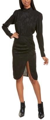 Nicole Miller Jacquard Sheath Dress