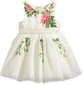 Nanette Lepore Floral Embroidered Tulle Dress, Baby Girls (0-24 months)