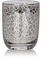 Kim Seybert Crackle Platinum-Embellished Double Old-Fashioned Tumblers Set-SILVER