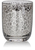 Kim Seybert Crackle Platinum-Embellished Double Old-Fashioned Tumblers Set