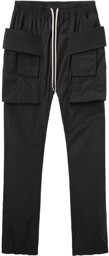 Rick Owens D RK SH D W by cargo pants