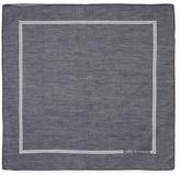 Signature Cotton Pocket Square