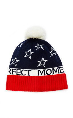 Perfect Moment PM Star Wool-Blend Beanie