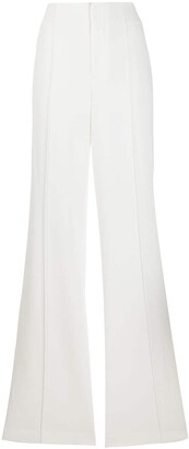 Alice + Olivia High-Waist Flared Trousers