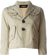DSQUARED2 flap pocket jacket