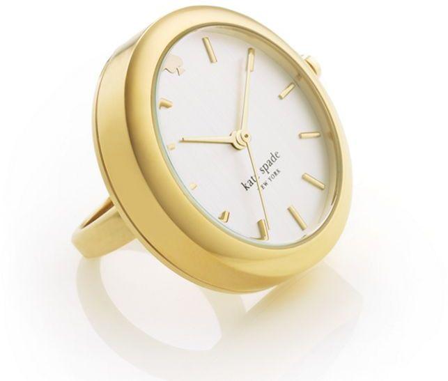 Kate Spade Gold Gramercy Ring