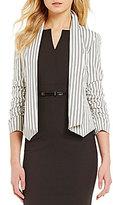 Antonio Melani Ramona Striped Sateen Jacket