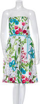 David Meister Sleeveless Floral Dress w/ Tags