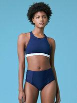 Diane von Furstenberg High Neck Bikini Top