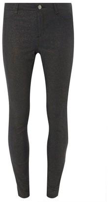 Dorothy Perkins Womens Indigo 'Frankie' Super Skinny Glitter Dark Wash Jeans, Indigo