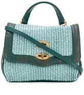 Zanellato Woven Straw Tote Bag